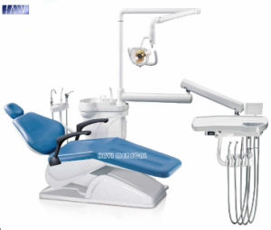Dental Intruments Blue Color Dental Unit for Sale pictures & photos