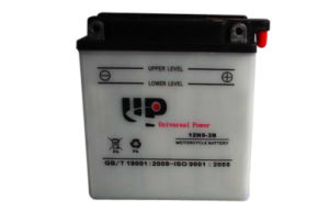 Dry Charged Motorcycle Battery with Acid Pack 12n5-3b 12V5ah