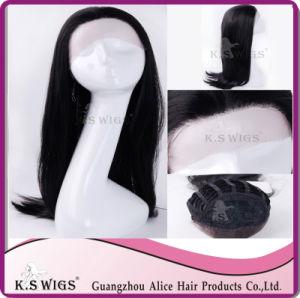 Synthetic Lace Wig Kanekalon Fiber Wig Top Grade pictures & photos