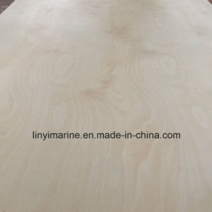 White Birch Plywood Poplar Core Veneer Indoor Use BB/CC Grade pictures & photos