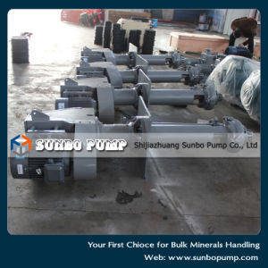 Heavy Duty Mineral Processing Vertical Sump Pump for Sale pictures & photos