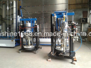 Insulating Glass/Double Glazing Glass Silicone Sealant Extruder Spreading Machine pictures & photos