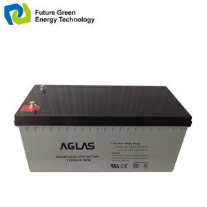 12V 200ah Deep Cycle Lead Acid Solar Power System Battery pictures & photos