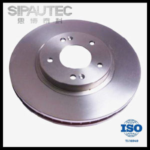 OEM Front Ventilated Disc Brake Rotor for Hyundai (5171226100) pictures & photos
