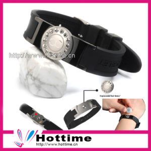 2013 Fashion Silicone Energy Bracelet pictures & photos