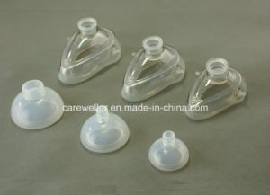 Rounded Shape Design Silicone Resuable Anesthesia Mask pictures & photos