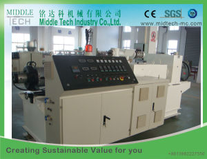PVC Pipe and Tube Twin Screw Parallel Extruder Machine pictures & photos