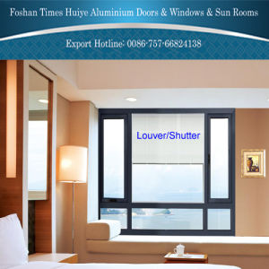 2017 New Fashion Design Aluminium Window with Louver/Shutter pictures & photos
