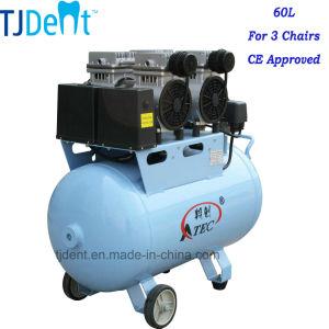 Quiet Clinic 60L Dental Auto Air Compressor (TJ-120/60) pictures & photos