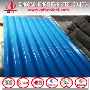 Color Zinc Color Coated Steel Roofs Sheets pictures & photos