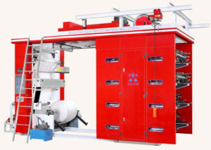 High Speed Flexographic Printing Machine for PP Woven