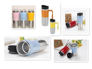 Hot Sale Stainless Steel Auto Mug Travel Mugs Travel Bottle Dn-006 pictures & photos