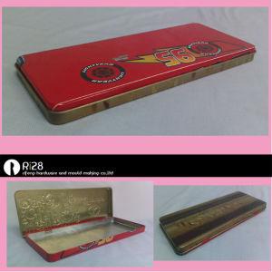 Popular kid′s pencil tin box/ pencil tin can/pen tin case
