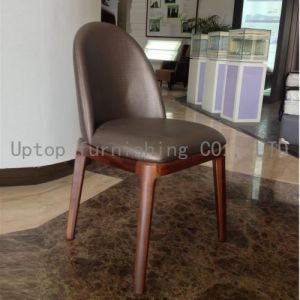 Hotel Restaurant Grace Upholstery Leather Chair (SP-EC609) pictures & photos