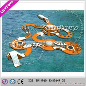 Largest Customized Inflatable Floating Water Park for Lake (J-water park-127) pictures & photos