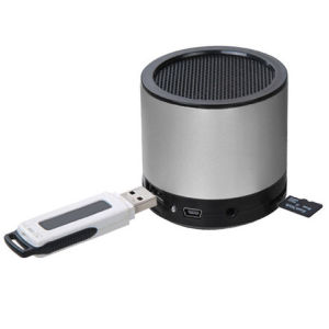 Portable Mobile Speaker with SD and USB Slot for iPhone pictures & photos