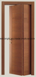 Modern Solid Wooden Interior Folding Doors pictures & photos
