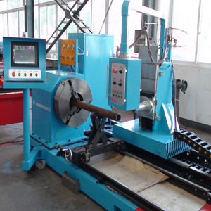 CNC Steel Pipe Cutting Machine pictures & photos