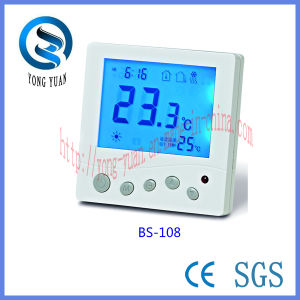 Easy Usage Digital Thermostat for Underfloor Heating for Water Heating (BS-108-F)