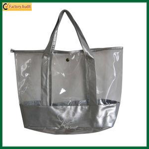 Clear PVC Fashion Zipper Beach Tote Bag (TP-TB104) pictures & photos