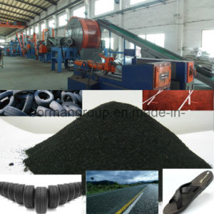 Tire Recycling Line 500-1000kg/H pictures & photos