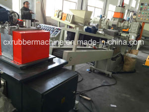 Masterbatch Production Line / Color Masterbatch Extruder Pelletizing Line pictures & photos