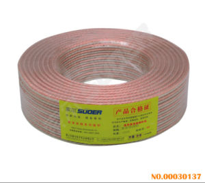 100 Yards High Quality Video Cable Speaker Cable (Speaker Cable-White Gold Silver-300 Type) pictures & photos