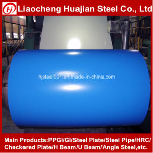 Color Coated Steel Coils PPGI for Roofing Building Supply Any Ral Color pictures & photos