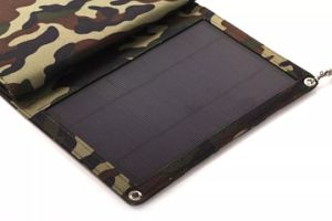 12W Portable Solar Travel Foldable Folding Mobile Phone Charger Bag Pack pictures & photos