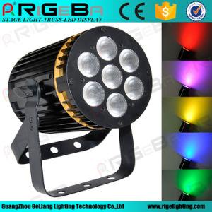 Disco Stage Light PAR36 7LEDs*8W RGBW 4in1 LED PAR Light pictures & photos