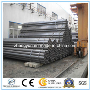 Hot DIP Galvanized ERW Carbon Welded Steel Pipe pictures & photos