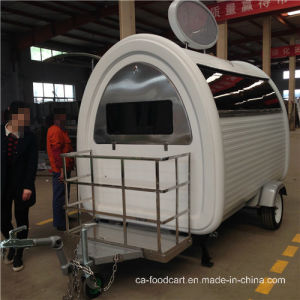 Restaurant Mobile Fast Food Cart with Tow Bar pictures & photos