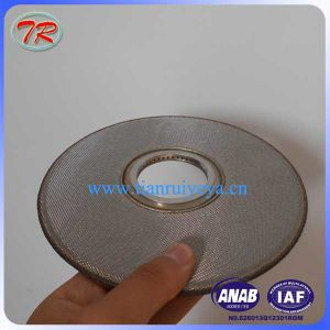 Sintered Stainless Steel Filter Disc, Sintered Filter Disc Factory in China pictures & photos