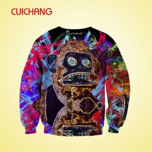 Animal Hoodies&Wholesale Crewneck Sweatshirt&Sublimation Printing Sweatshirt pictures & photos