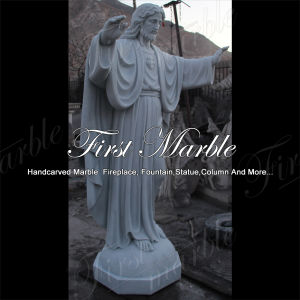 Hand-Carved Metrix Carrara Sculpture for Building Material Ms-1018 pictures & photos