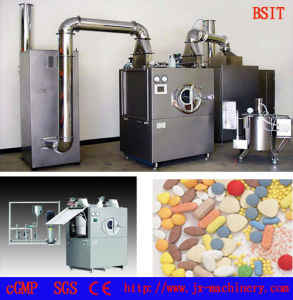 Tablet Film Coating Machine with Cip Cleaning System pictures & photos
