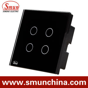 4 Key Black Simple Touch and Remote Control Switch pictures & photos