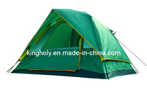 Multi Person 3-4person Double Layer Camping Tent