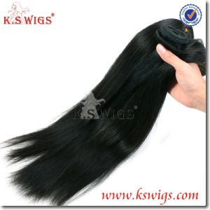 100% Virgin Cambodian Human Hair Weft Extension pictures & photos