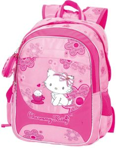 Nylon School Backpack (CMK-1)