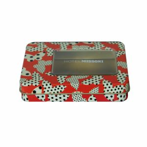 Special-Print Square Tin Box----Nc2877A