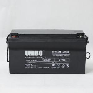 12V150ah High Quality Solar System AGM Lead Acid Battery Solar Battery pictures & photos