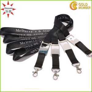 Custom Pouch Badge Holder Lanyard pictures & photos