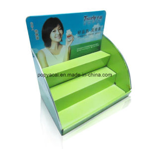 Paper Counter Shelf Display Stands for Medicine pictures & photos