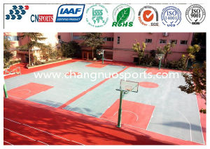High Performance and Good Elastic Silicon PU Basketball Court pictures & photos