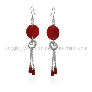 Fashion Silver Earrings (K52E015)