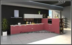 Melamine Chipboard Modular Kitchen Cabinet pictures & photos