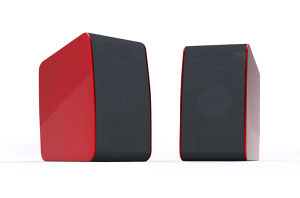 3D Technology 2.0 Channel Speaker (S29-red)