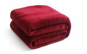 Super Soft Solid/Printed Flannel Blanket Sr-B170219-34 Solid/Printed Coral Fleece Blanket pictures & photos