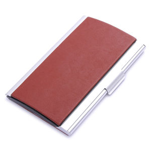 Custom Promotion Gift PU Leather Name Card Holder (BK21552) pictures & photos